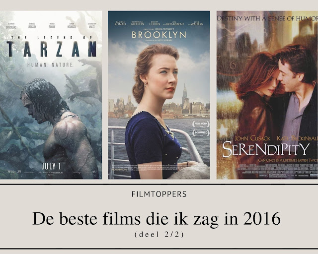 Filmtoppers - Beste films 2016