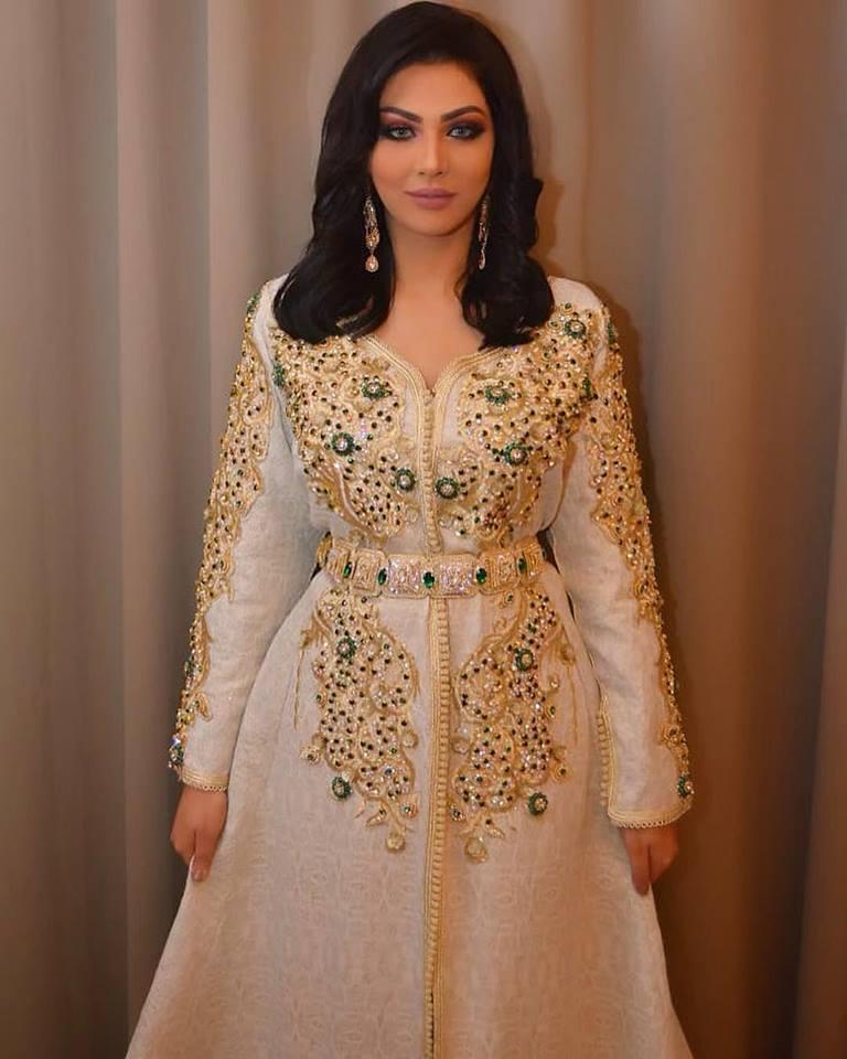 56a3b2824fc Robe Dubai - Robe Marocaine Caftan 2019 Pas Cher - Caftan Marocain ...