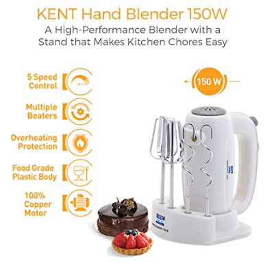 KENT Hand Blender to Make Cooking Easier, Faster and Hassle Free