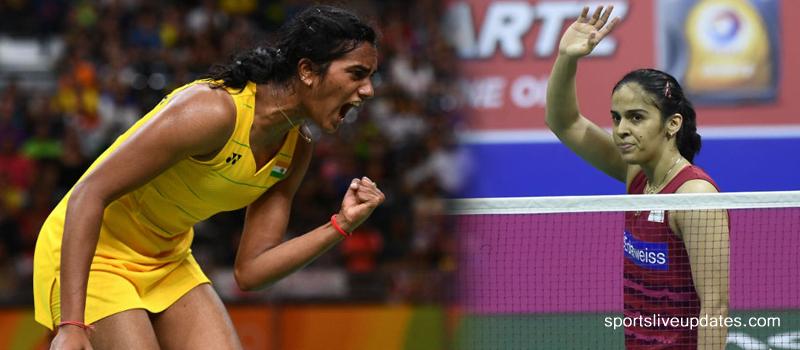 PV Sindhu and Saina in 'World Championship' Semi-Finals