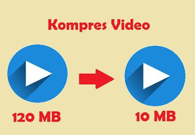 cara mengkompres video di hp