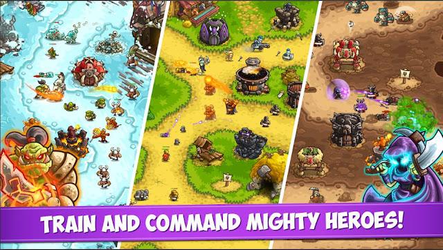 Game Strategi Kerajaan Offline Kingdom Rush Vengeance Mod Apk