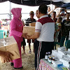 Peduli Korban Banjir, Polres Tulang Bawang Berikan Bantuan Kepada  Warga