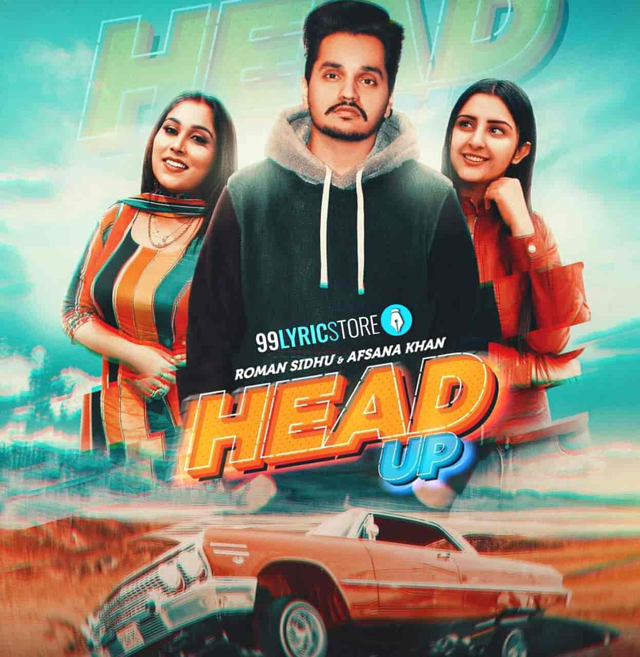Head Up Punjabi Song Images By Roman Sidhu