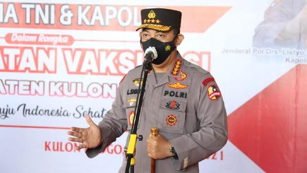 Siap Rekrut 56 Pegawai KPK Gagal TWK, Kapolri Kantongi Izin Jokowi