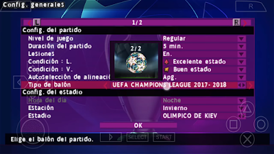 eFootball PES 2020 PPSPP Android Season 2019/2020 by Bendezu