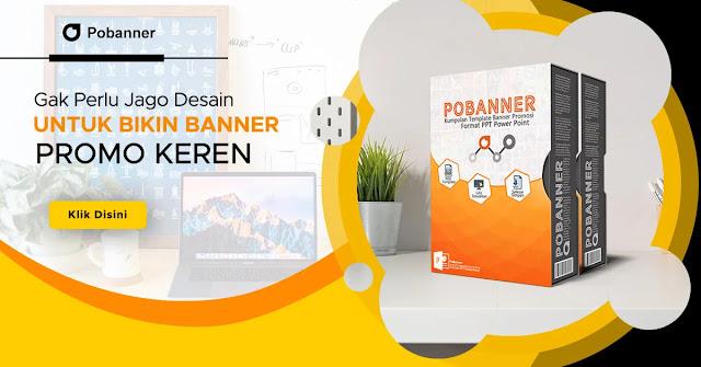 Membuat Banner Promosi Dengan Mudah Gak Perlu Jago Desain Cukup Gunakan Template Desain Power Point Pobanner