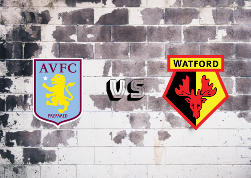 Aston Villa vs Watford  Resumen