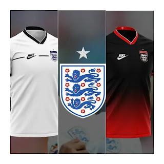 gambar ringan Bocoran Jersey Inggris euro 2020/2021 Nike Konsep
