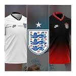 Bocoran Jersey Inggris euro 2020/2021 Nike Konsep
