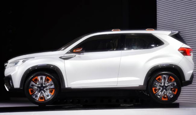 2018 Subaru Tribeca Replacement Specs
