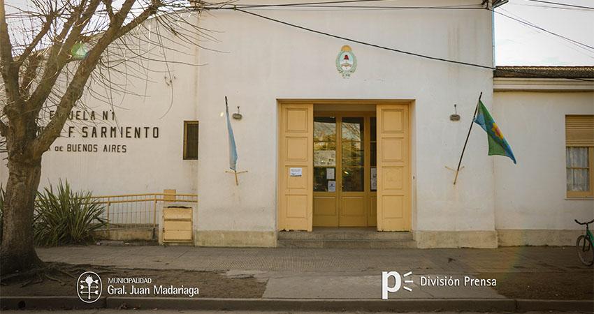 Escuela Primaria 1 Domingo Faustino Sarmiento - Madariaga