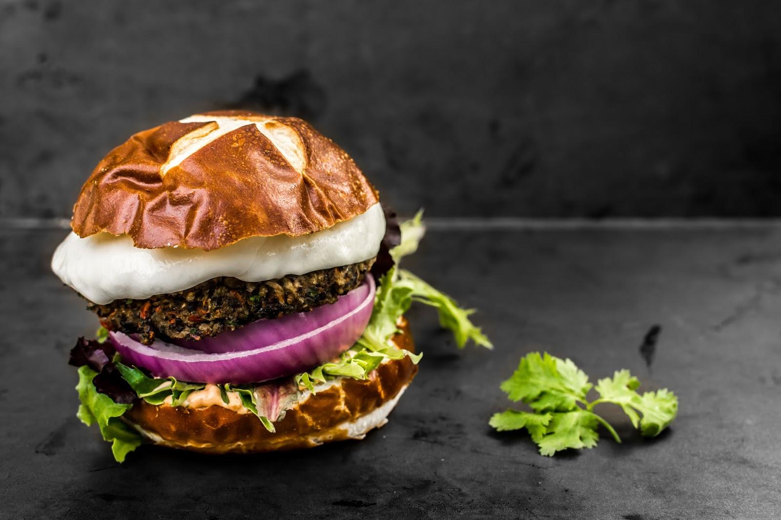 Black Bean Burger America Test Kitchen