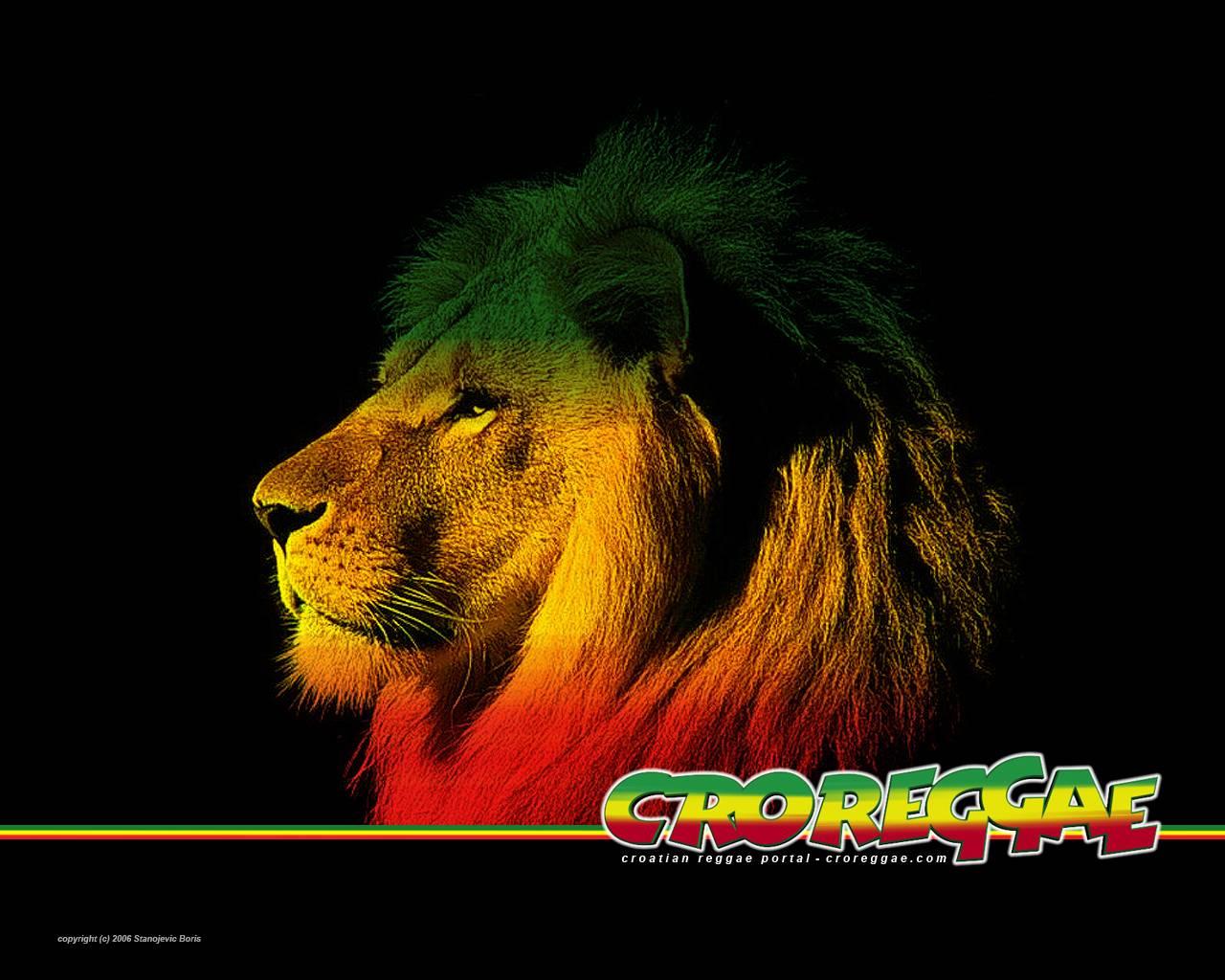 rastafarian lion wallpaper - photo #1