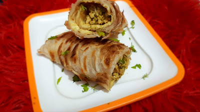 Chicken Kaathi Rolls