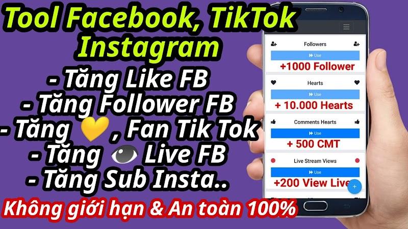 Hướng dẫn tăng Like và Người theo dõi Facebook 2020 không cần Token & Không cần đăng nhập
