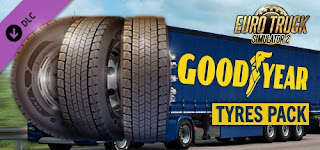 don't miss the free goodyear tyres pack dlc opportunity for ets 2!