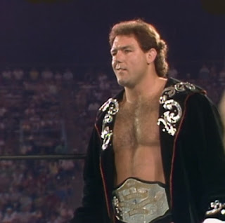 NWA Great American Bash 1986 (Charlotte, July 5th) - Tully Blanchard battled Ronnie Garvin in a taped fist match