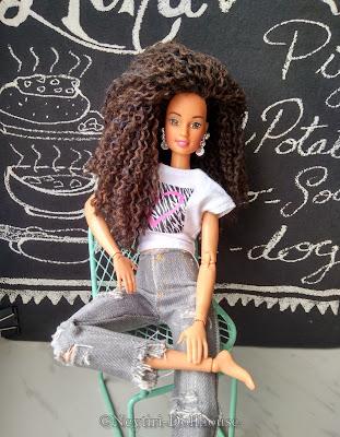 Mattel Barbie doll Teresa reroot Made To Move MtM body