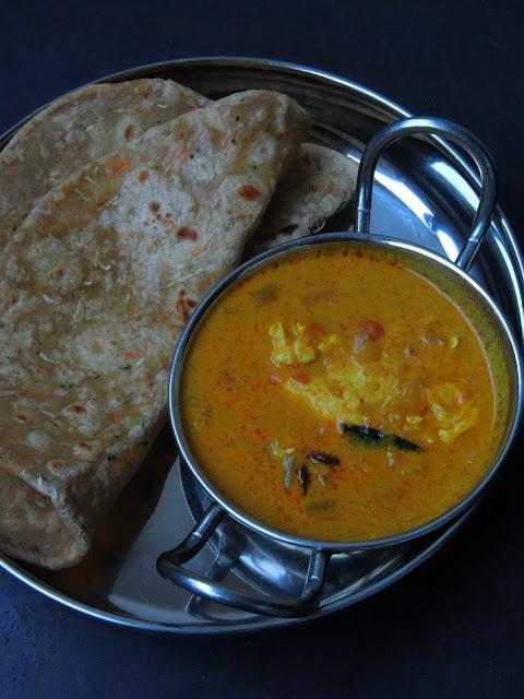 Egg drop curry, Mutta curry