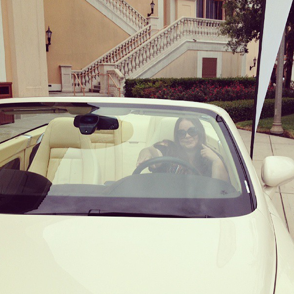 Me in my (I wish) Bentley