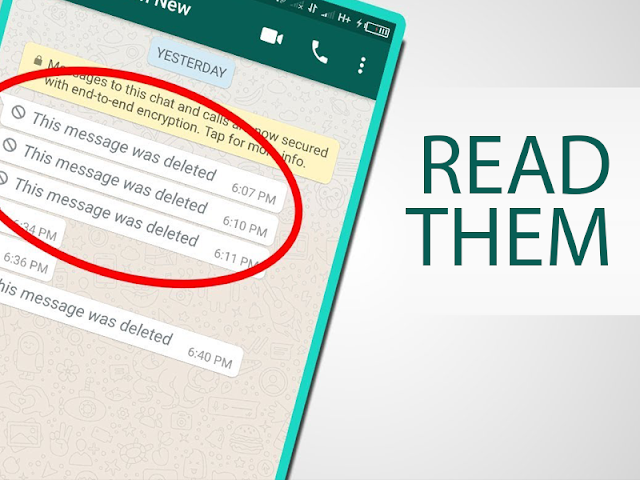 How to read deleted WhatsApp messages and status