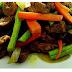 Resepi Daging Goreng Kunyit Dengan Kacang Panjang Sedap