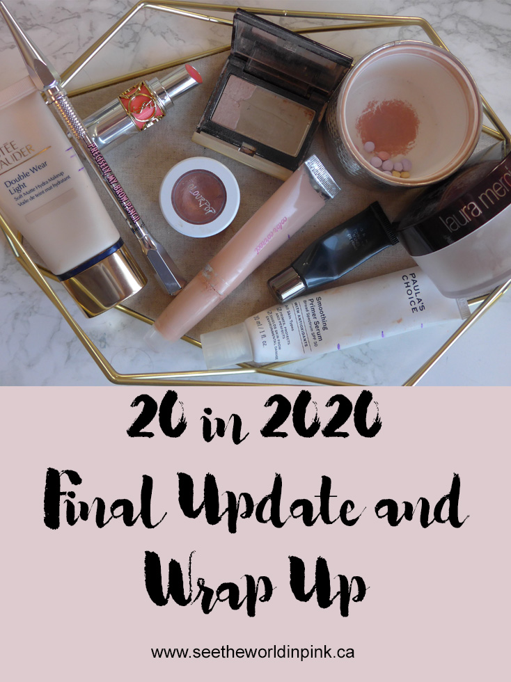 20 in 2020 Project Pan