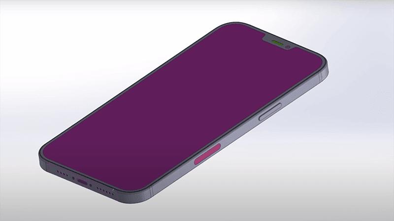 CAD render Front side