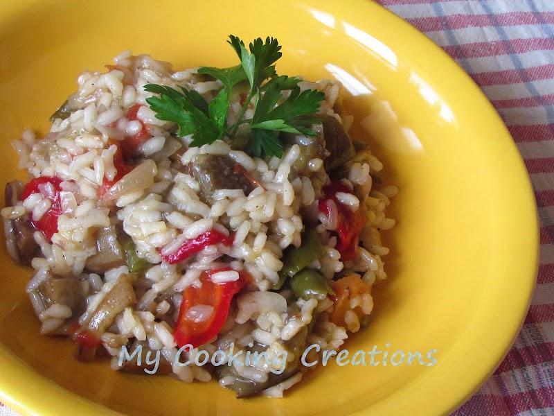Ризото със зеленчуци * Risotto alle verdure