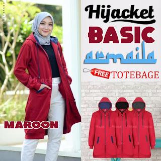 Hijacket Basic Maroon
