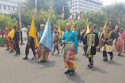 Dua Orang Personel Kodim 1407/Bone, Ikut mengawal Duplikat Bendera Pusaka & Teks Proklamasi