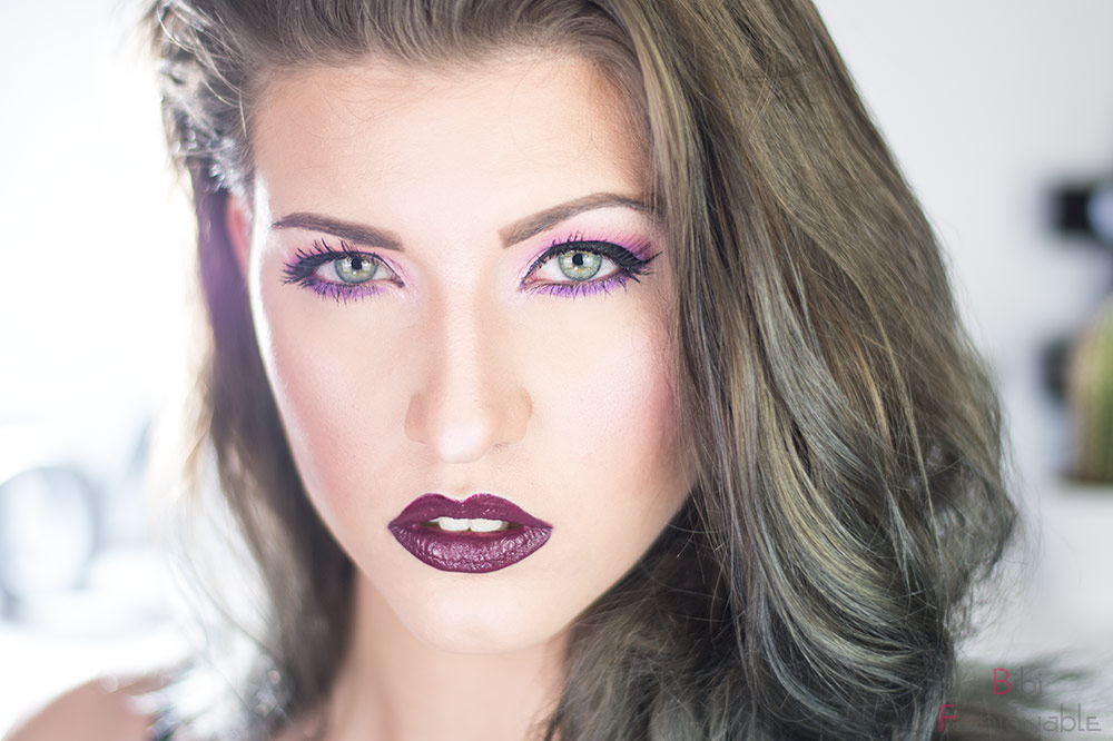 Color of the Year 2019 Ultra Violet Look frontal