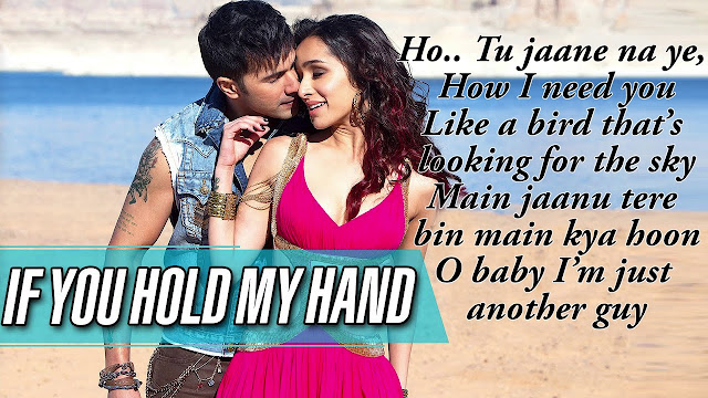 IF YOU HOLD MY HAND LYRICS ABCD 2