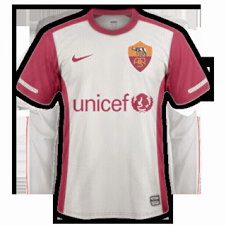 gambar jersey as roma away terbaru musim depan 2015/2016, kualitas grade ori