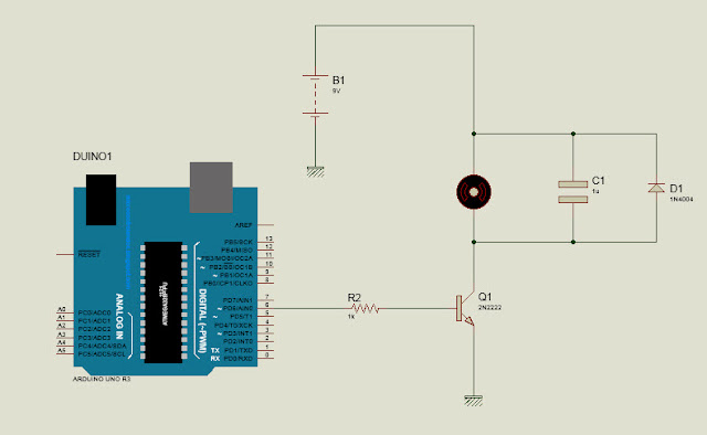How to control DC motor using PWM from Arduino