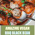 Amazing Vegan BBQ Black Bean Meatballs
