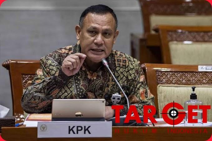 Ketua KPK H. FIRLI BAHURI : Pasca Ditetapkan Sebagai Tersangka Atas Pengadaan CSRT, PRK dan MUM Langsung Kami Tahan