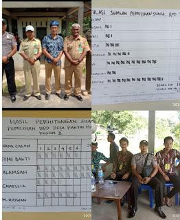Pemilihan Serentak Anggota Badan Permusyawaratan Desa (BPD) Di dua Dusun Desa Pantai Harapan.