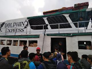 kapal Menuju Pulau Pramuka
