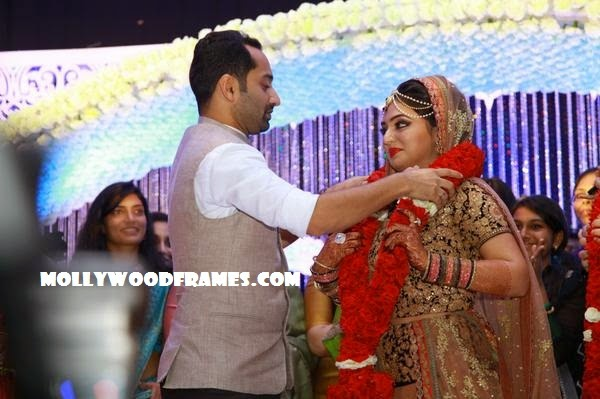 Fahad Fazil and Nazriya marriage photos