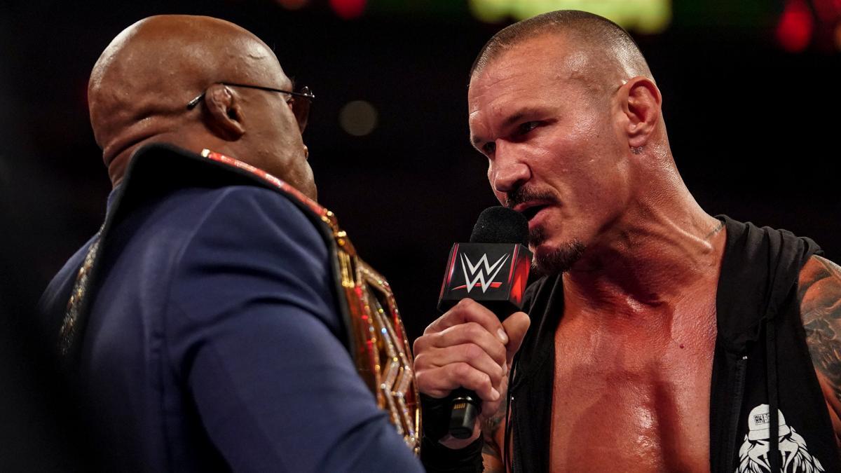 Bobby Lashley and Randy Orton