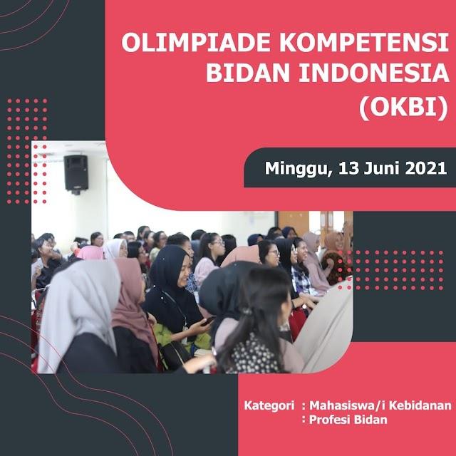 Pendaftaran Olimpiade Kompetensi Bidan Indonesia (OKBI)