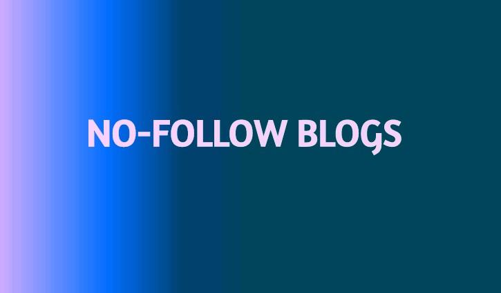 No-follow-blog