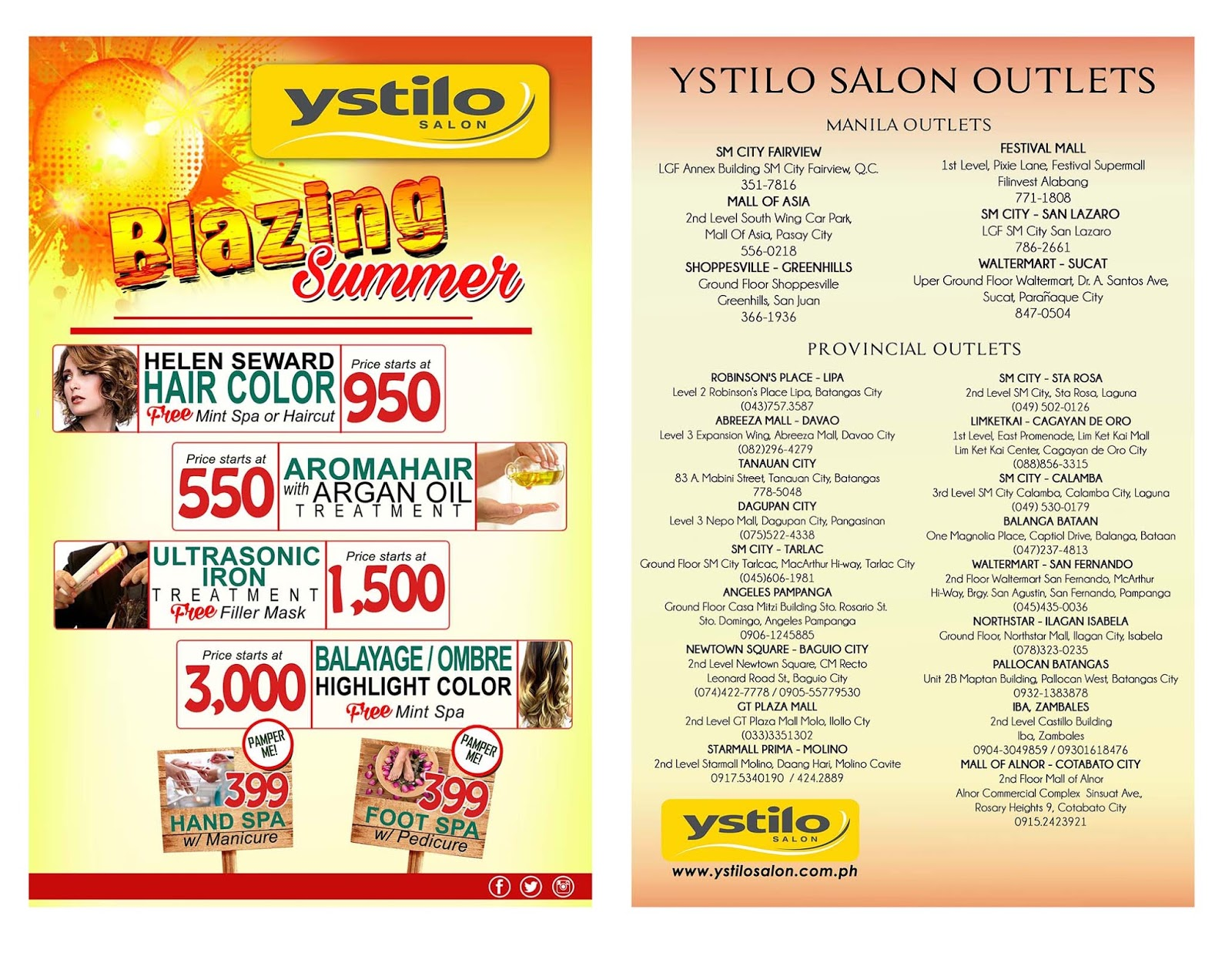 Brand X Try Ystilo Salons New Product Fresh From Italy Helen