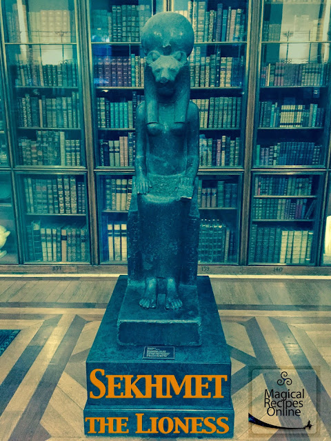 egyptian photo statue ancient sekhmet