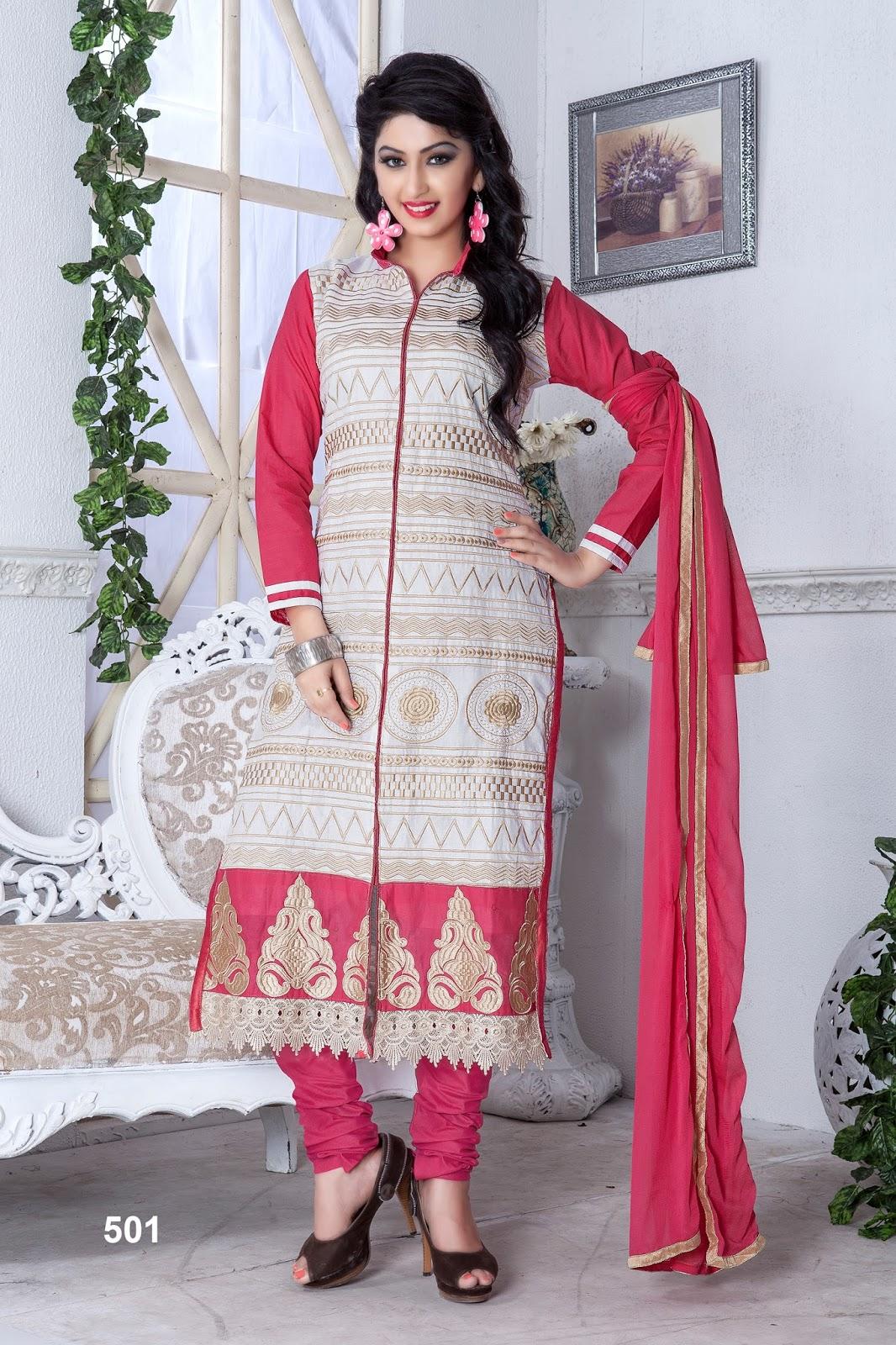 Sabia 2 – Fancy Cotton Salwar Suit Dress Material