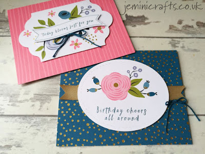 If you love florals, this card kit from Stampin Up is a must. Makes up to 16 cards