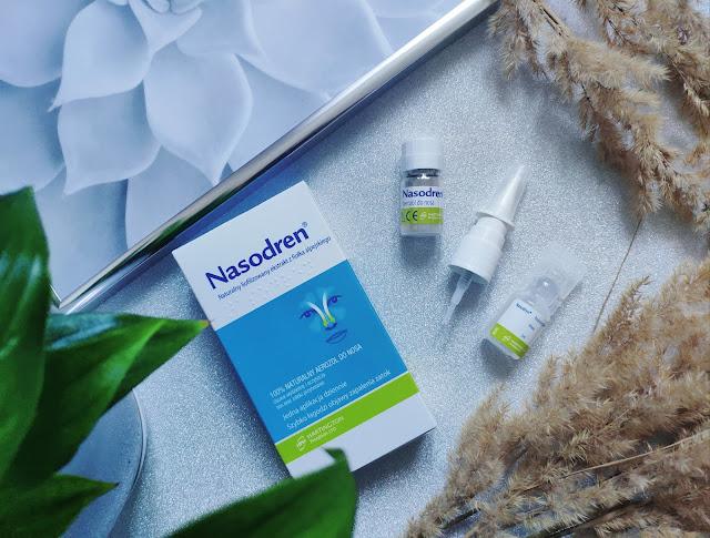Nasodern - Naturalny aerozol do nosa przy problemach z zatokami