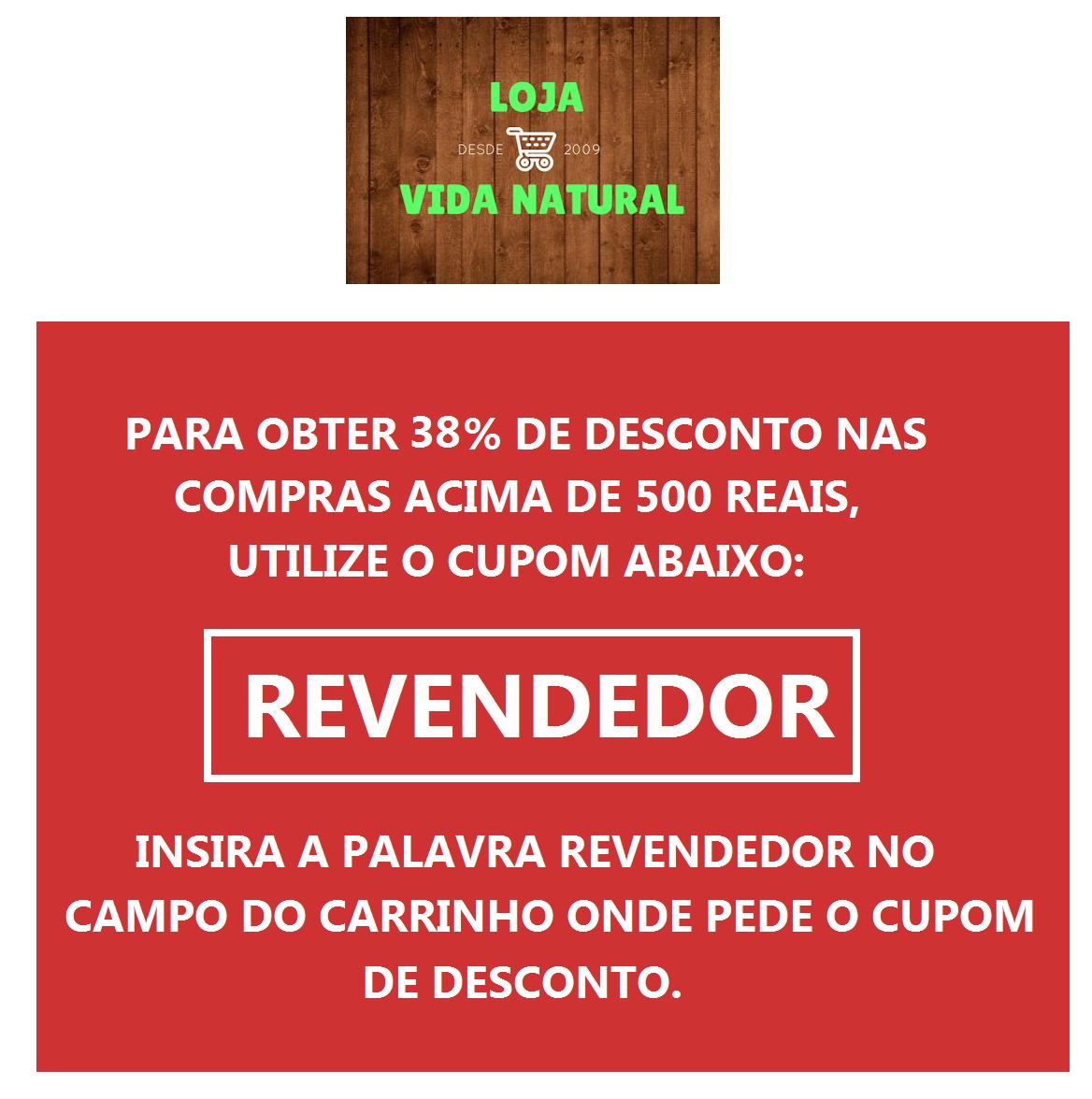 REVENDER PRODUTOS NATURAIS